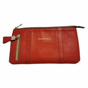 See By Chloé leather wallet clutch